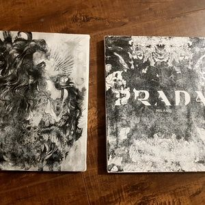 Other - Black and white wall hangings / pictures set of 2